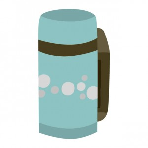 水筒のイラスト