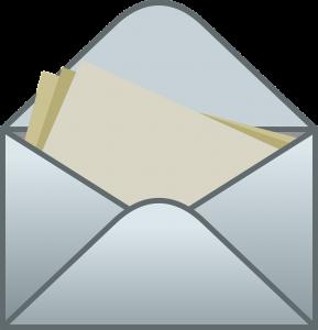 お礼の手紙のイラスト