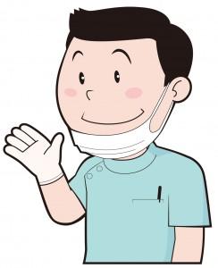 歯科医の先生のイラスト