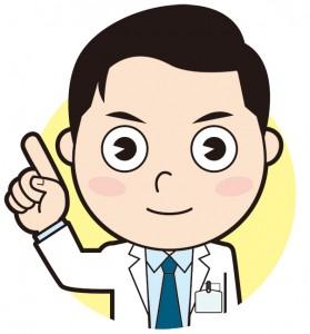 誠実そうな男性医師のイラスト