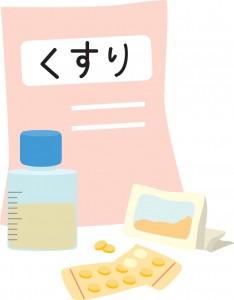 風邪薬のイラスト