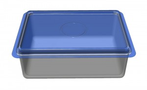 ステンレスの保存容器セットの写真
