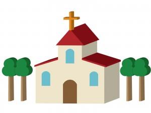 教会のイラスト