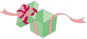 贈り物の箱のイラスト
